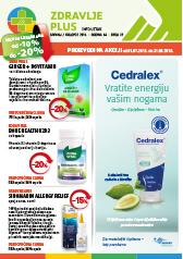 Zdravlje Plus - Katalog akcija za srpanj 2018.